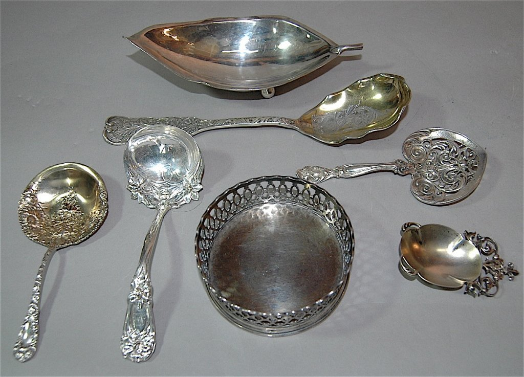 1: Sterling Silver Group- 7 Pieces