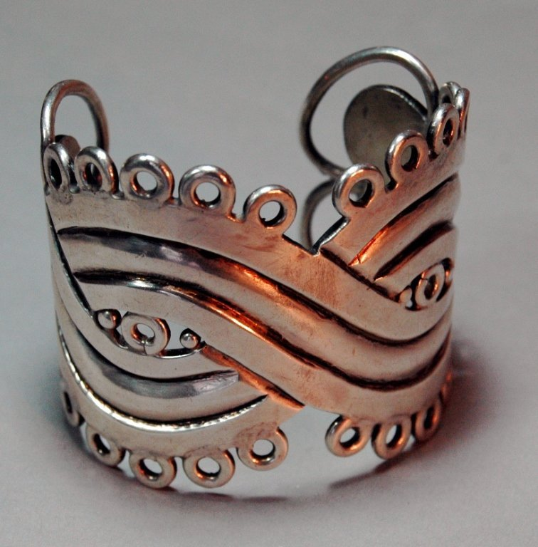 4: William Spratling Sterling Cuff Bracelet