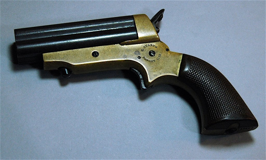 8: C. Sharps and Co. 4 Shot Pepperbox Pistol