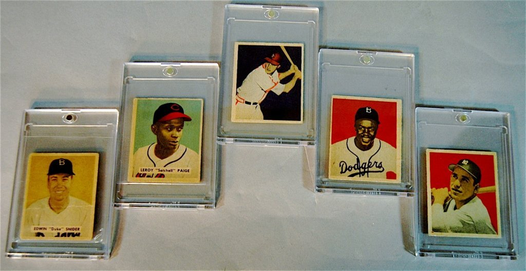 145: 1949 Bowman Baseball Card Complete Set (240)