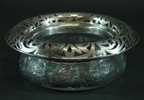 19: American Brilliant Period Cut Glass Bowl
