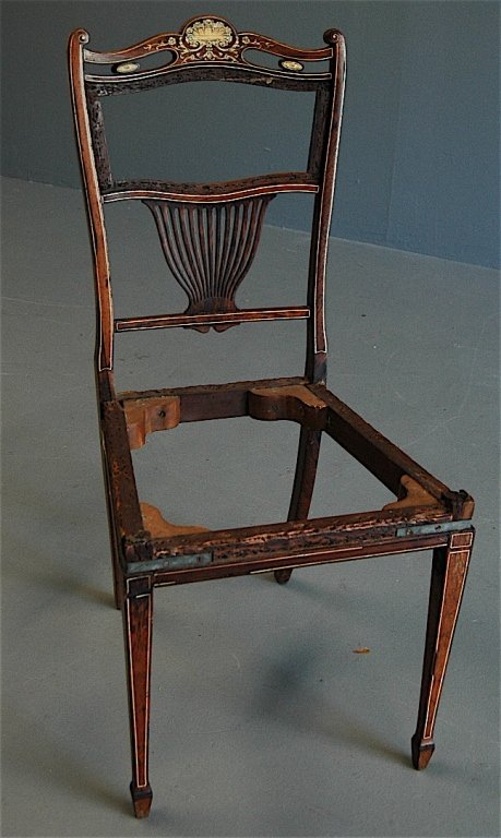 20: Hepplewhite Period Side Chair