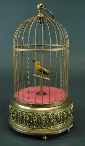 22: Automaton Singing Bird in Cage