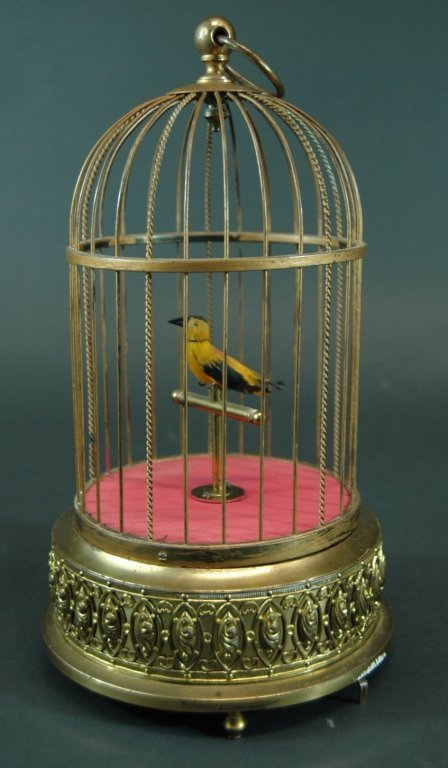 22: Automaton Singing Bird in Cage