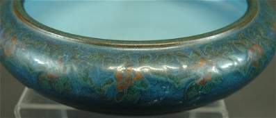63: Marblehead Art Pottery Decorated Bowl