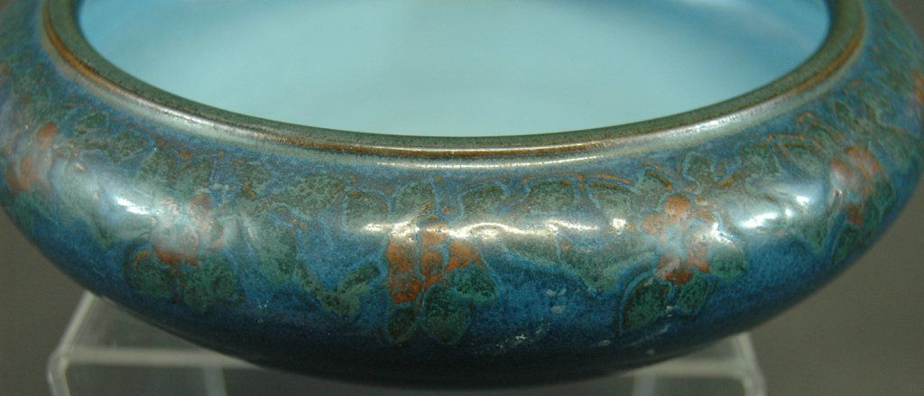 Marblehead Art Pottery Decorated Bowl