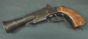 269: Early Pin Fire Black Powder Pistol