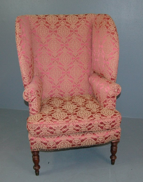 Fine Period American Wing Chair