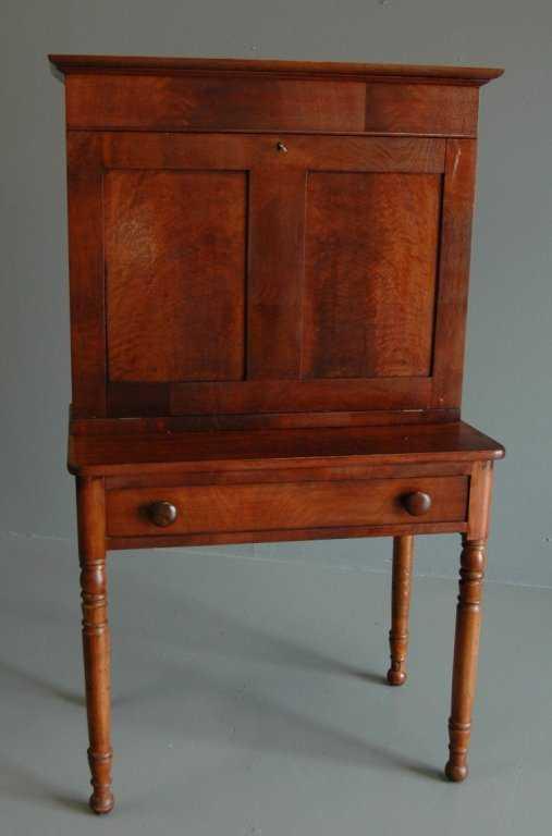 Walnut Amp Oak Plantation Desk