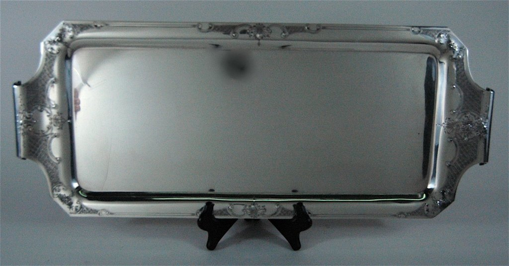 International Sterling Silver Sandwich Tray
