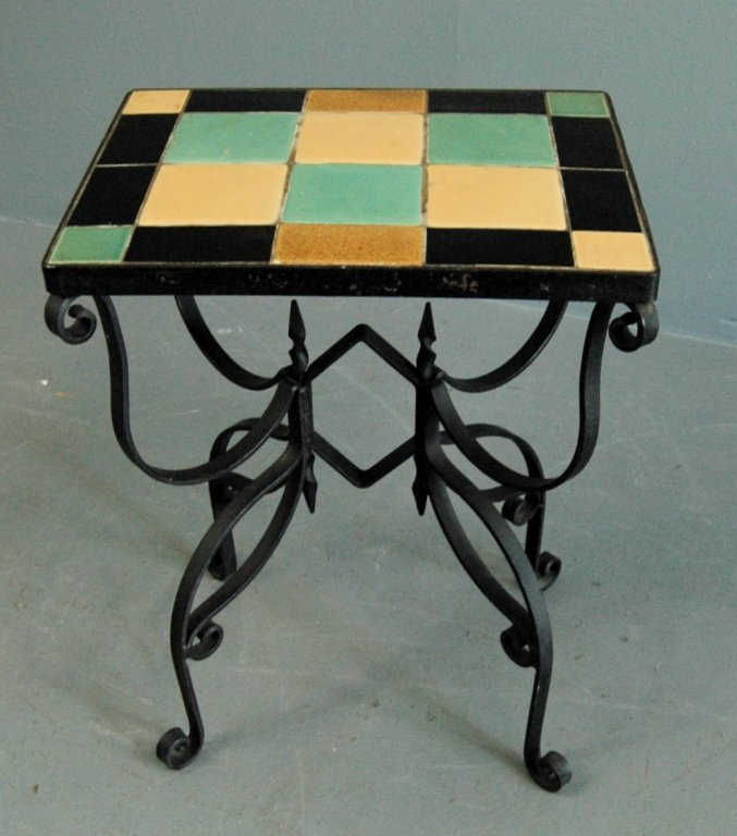 California Tile Top Table