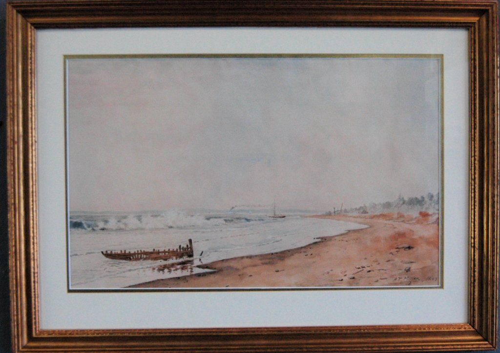 Addison Thomas Millar (1860-1913) Watercolor