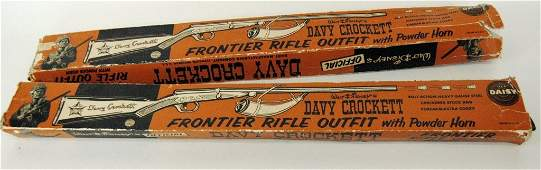 2 Davy Crockett Frontier Rifle Outfits