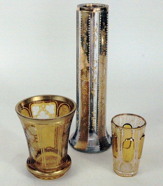 3 Piece European Glass