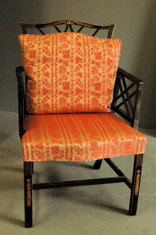 Chinese Chippendale Arm Chair - 2