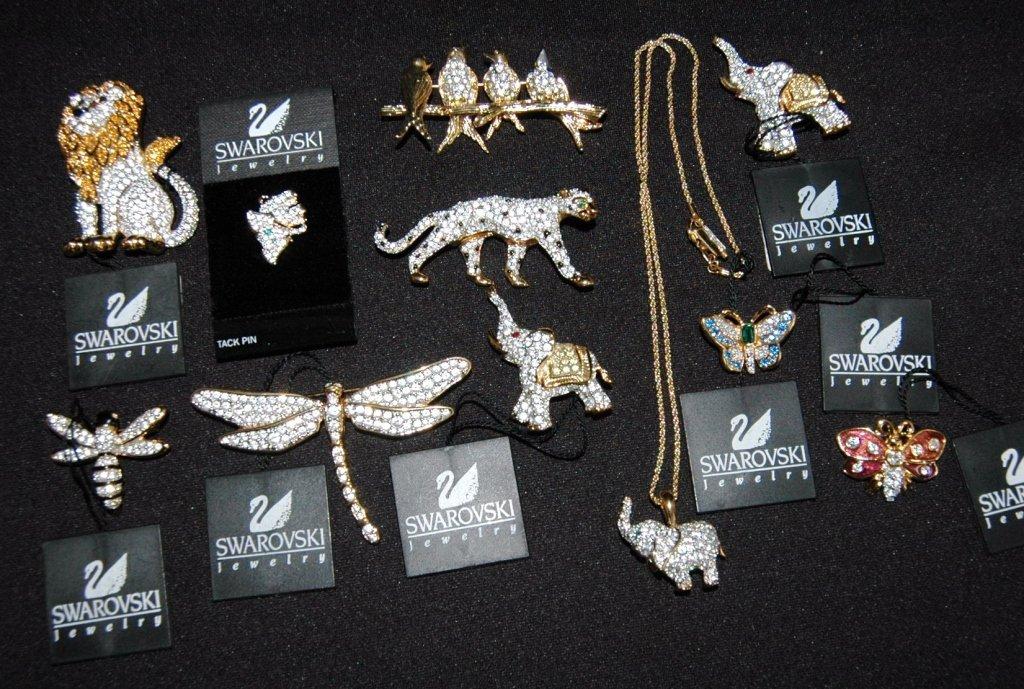 Swarovski Animal Jewelry