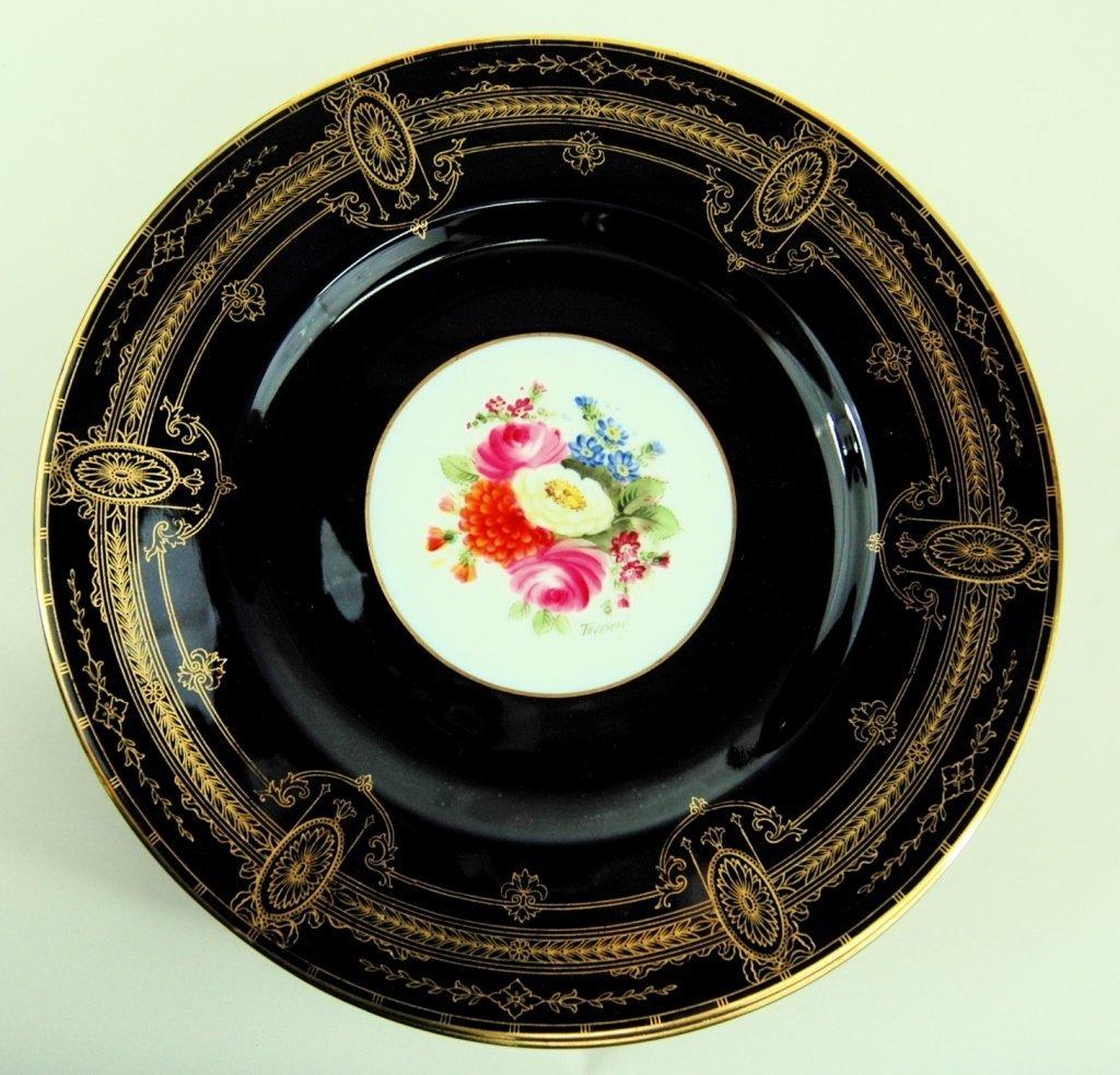 10 Royal Worcester Service Plates