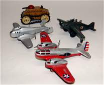 Group of 4 Toys