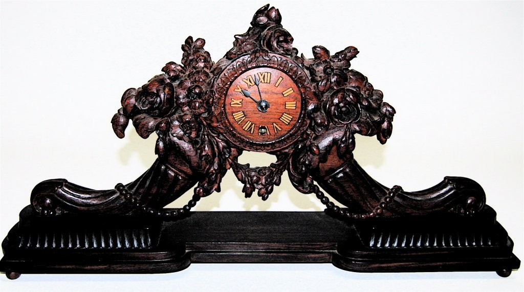 Black Forest Mantle Clock