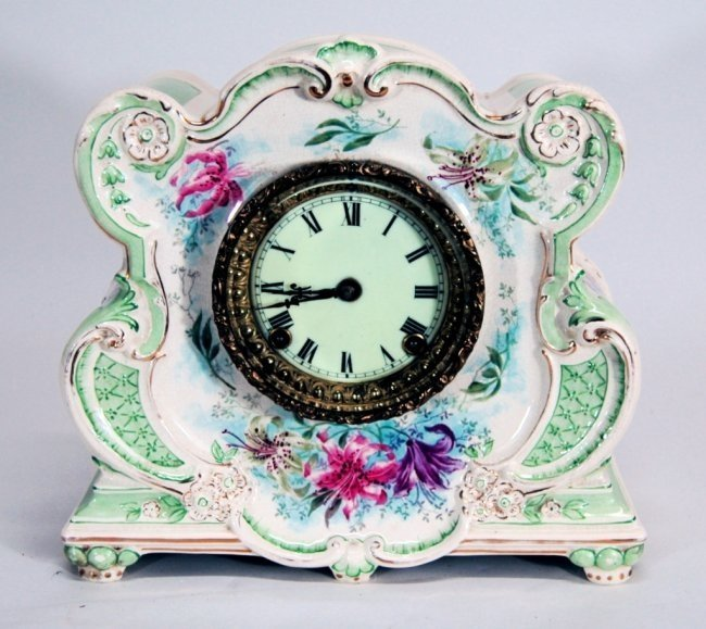 Royal Bonn Ansonia Clock