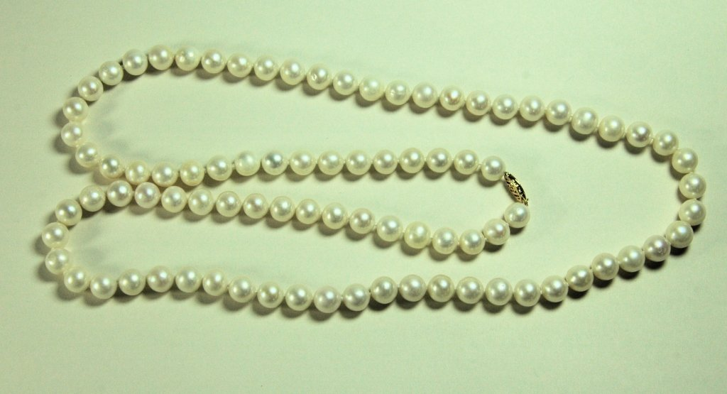 "32"" Strand of Cultured Pearls"