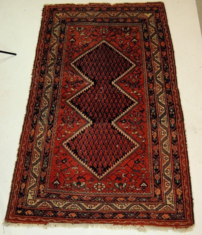 Antique Shiraz Area Rug