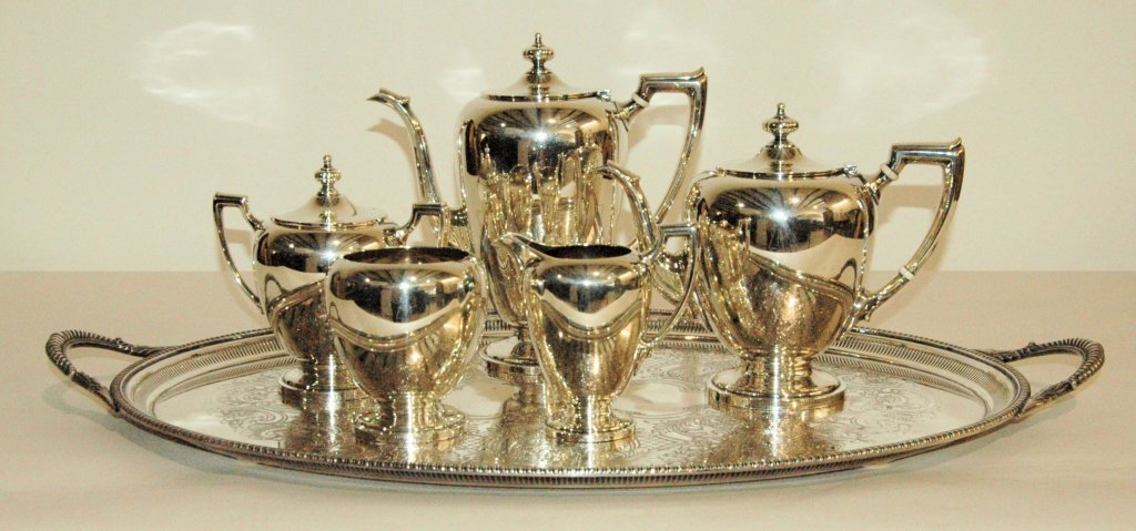 Reed & Barton Sterling Tea & Coffee Service