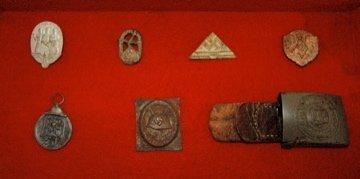 WWII German Pins, Pendant & Buckle