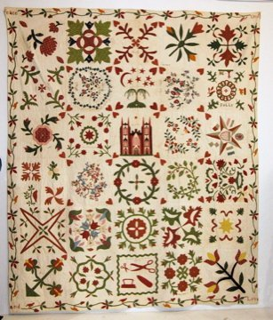 Early American Album Quilt 1853
