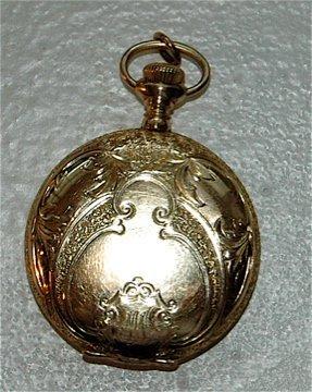 Ladies 14K Pocket Watch