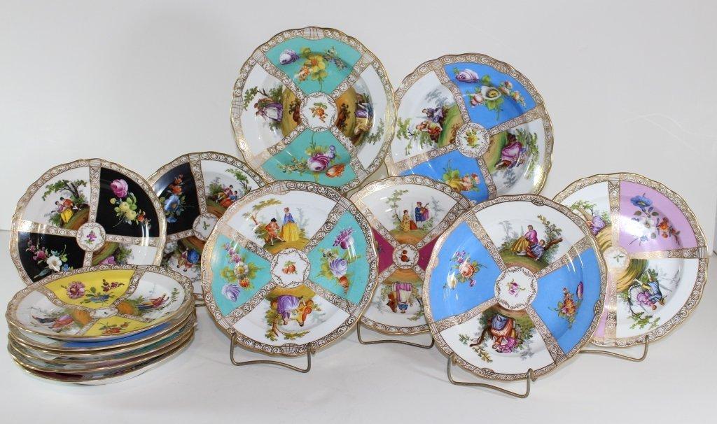 Meissen Dessert Plates & Bowls