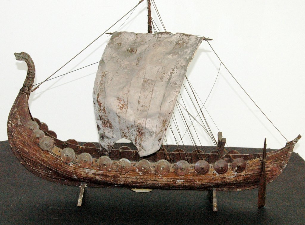 Scale Model of Viking Ship