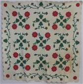 "Applique Quilt ""Buds & Blooms"""
