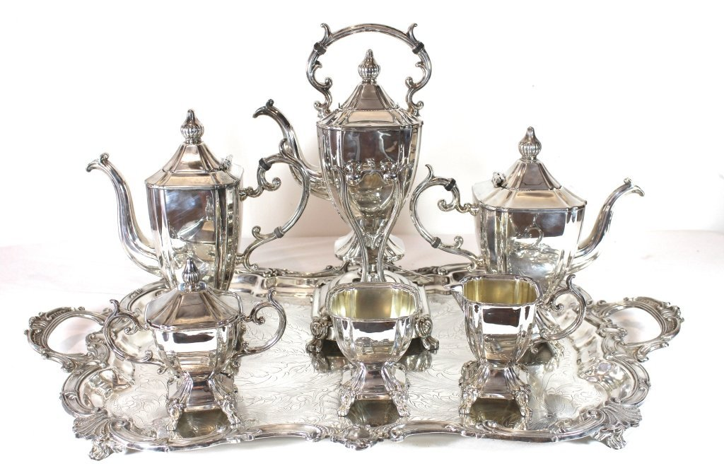 Silver Plate Coffee & Tea Service