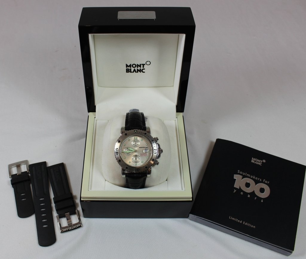 MontBlanc Chronometer Divers Watch