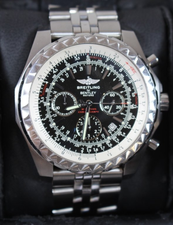 Breitling for Bentley Chronograph Watch