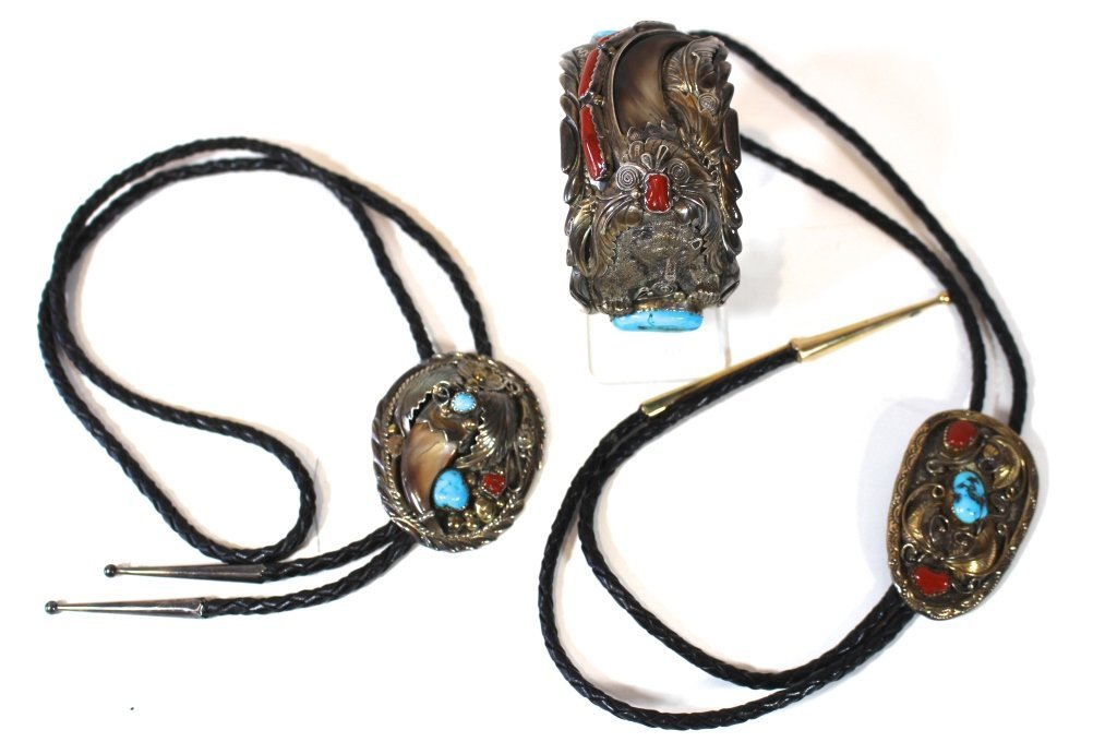 3 Piece Group Navajo Jewelry