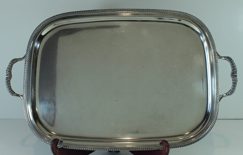 Fisher Sterling Serving Tray
