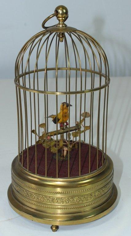 German Automaton Bird-in-Cage