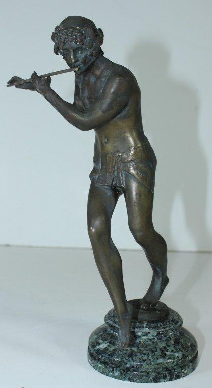 E. Piron Bronze Sculpture