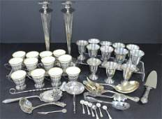 Mixed Sterling Silver Group 39 Pieces