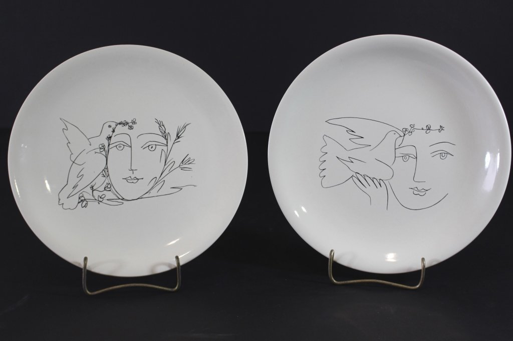 Two Picasso Designed Plates