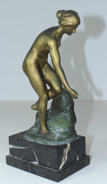 Curtis A. Soding, Bronze Female Nude