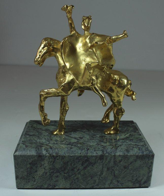 Salvador Dali, Dore' Bronze Figure