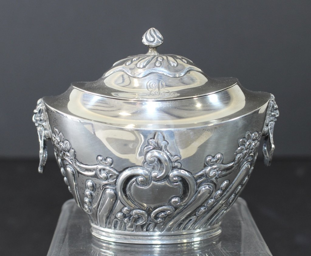 Charles Stuart Harris, English Sterling Tea Caddy