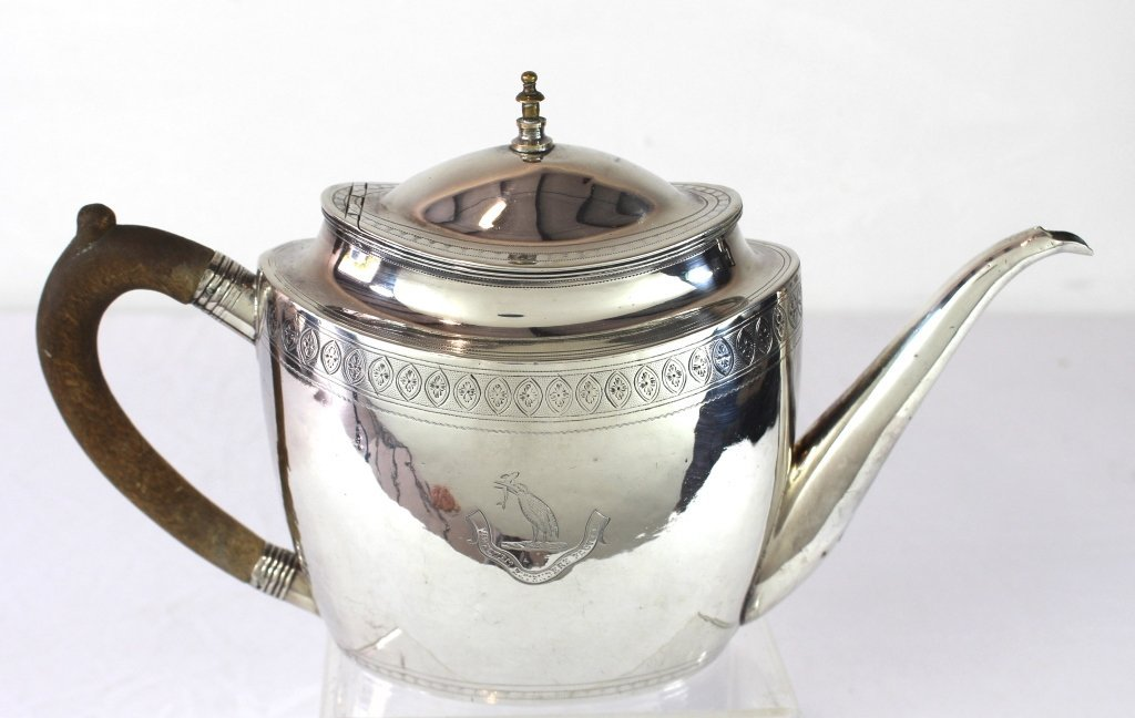 Georgian Sterling Teapot by John Robbins
