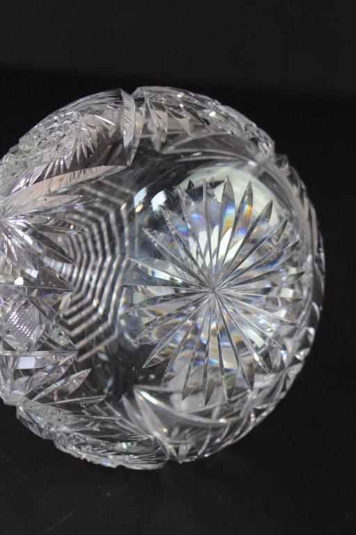 American Brilliant Period Cut Glass Decanter - 2