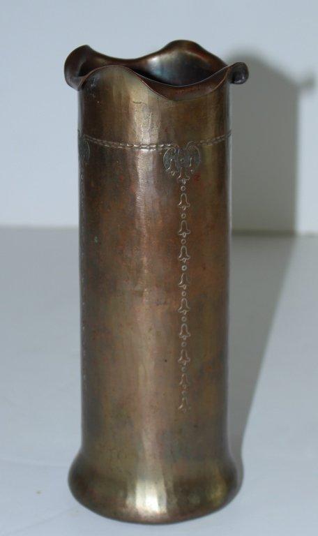 Roycroft Hammered Copper Vase