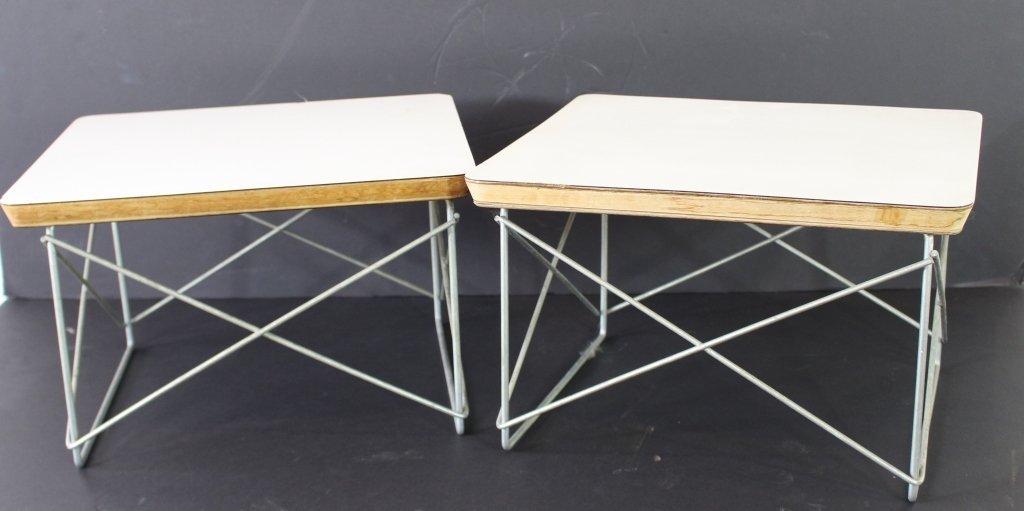 Pair Eames for Herman Miller LTR Tables