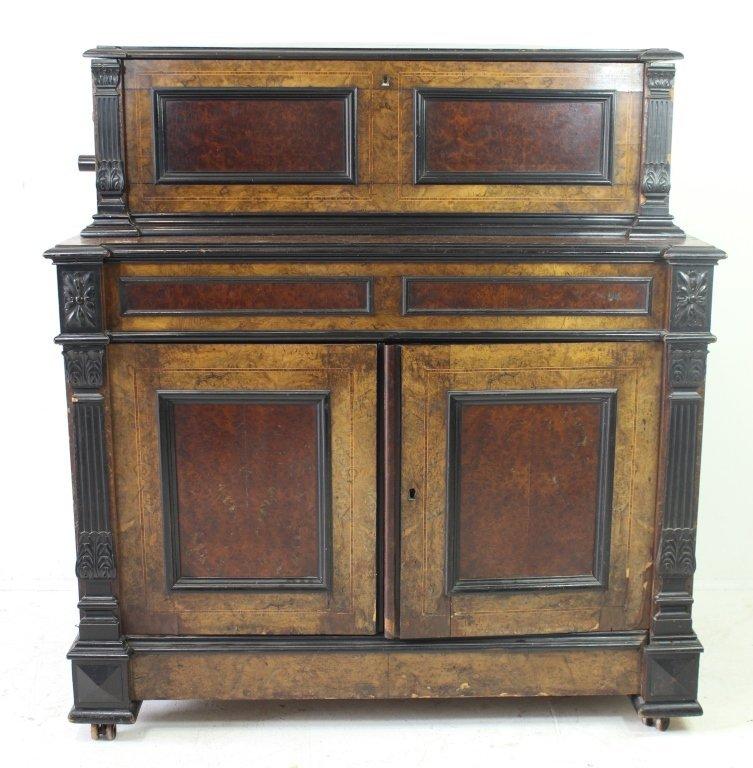 Samuel Troll Orchestral Music Box & Cabinet